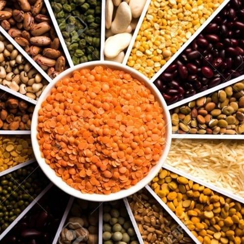 Natural Dals, Pulses & Grains